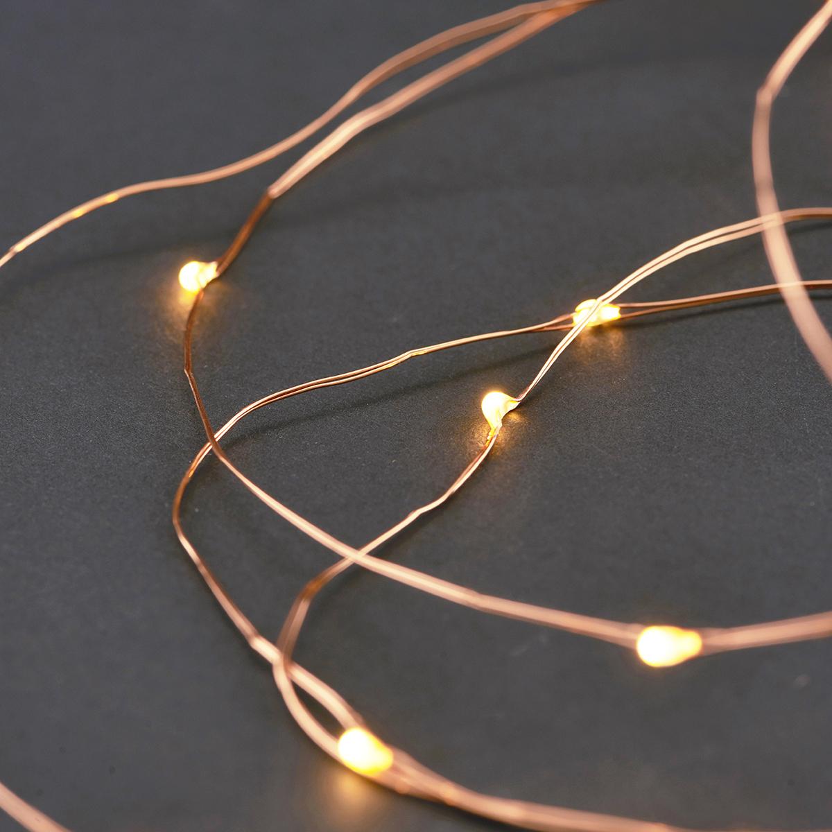 House Doctor - Garland Lights - Copper (VG0210)