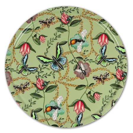 Nadja Wedin Design Brett 65 cm Bugs & Butterflies Grønn