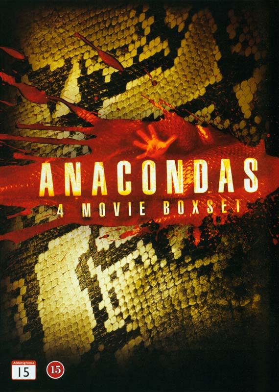 Anacondas 4 Movie Boxset - DVD