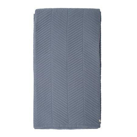 Sengeteppe Stripe - Blå