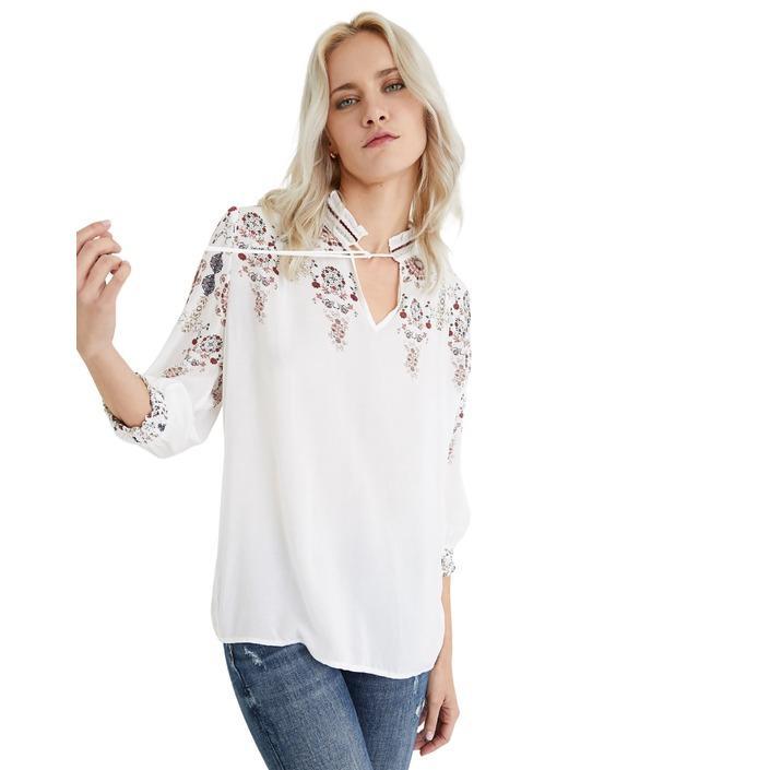 Desigual Women's Top White 189449 - white XL