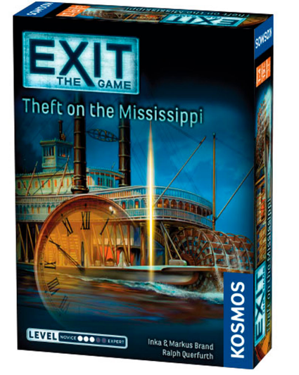 EXIT: Theft On The Mississippi - Escape Room Game (English) (KOS1501)
