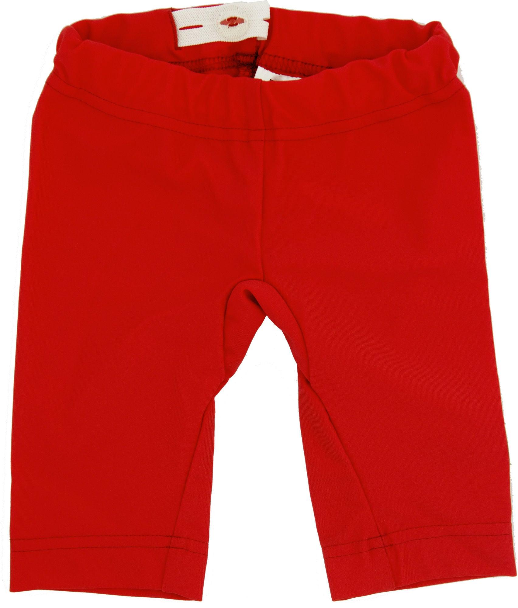 ImseVimse UV-Shorts, Red 62-68
