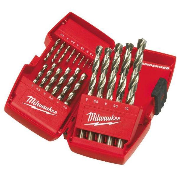 Milwaukee HSS-Thunderweb 4932352374 Borsett 19 deler