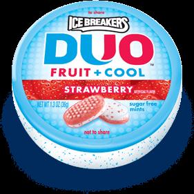 IceBreakers DUO Strawberry Mints