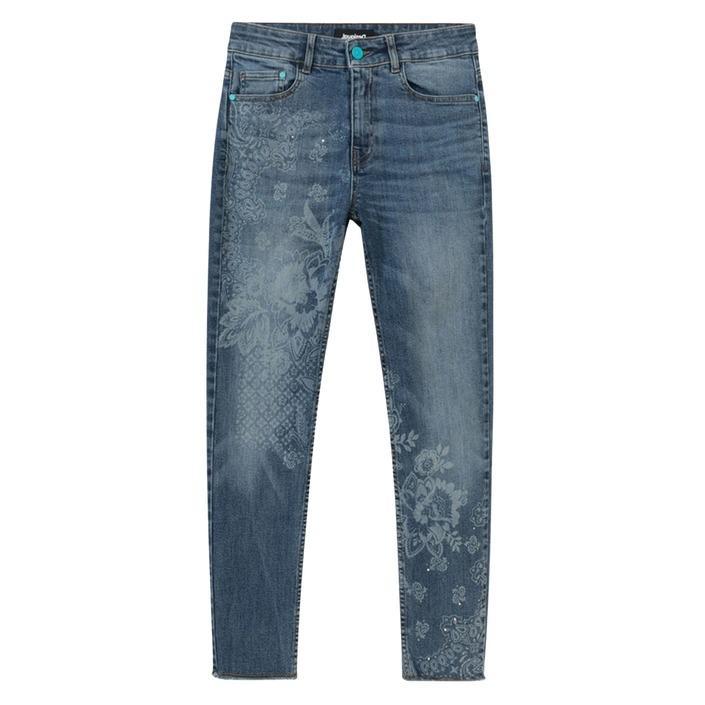 Desigual Women's Jeans Blue 189273 - blue w24