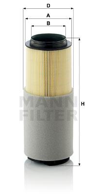 Ilmansuodatin MANN-FILTER C 12 003