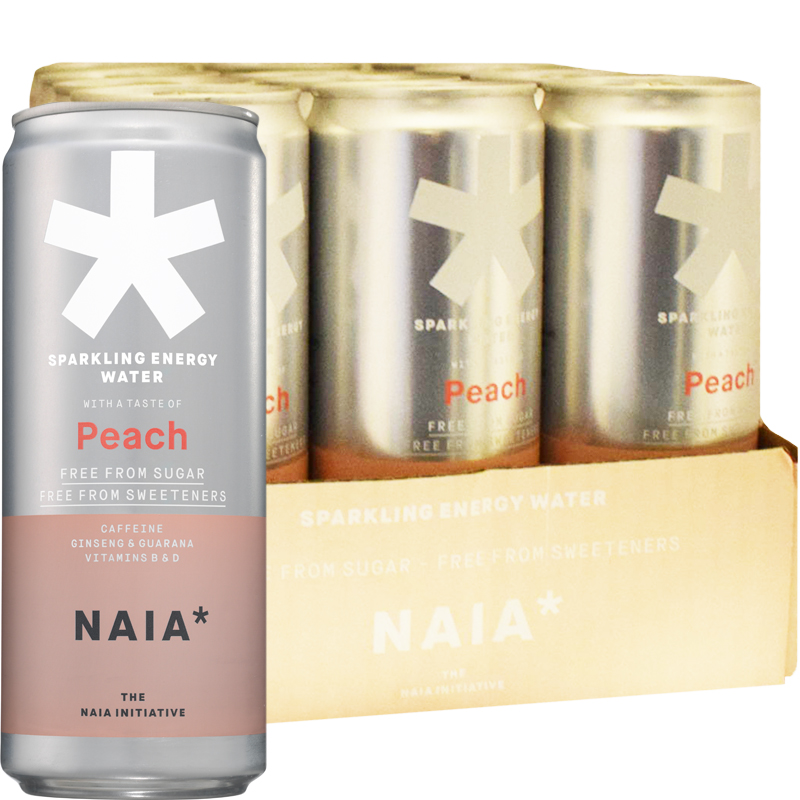 Energidryck Peach 12-pack - 57% rabatt