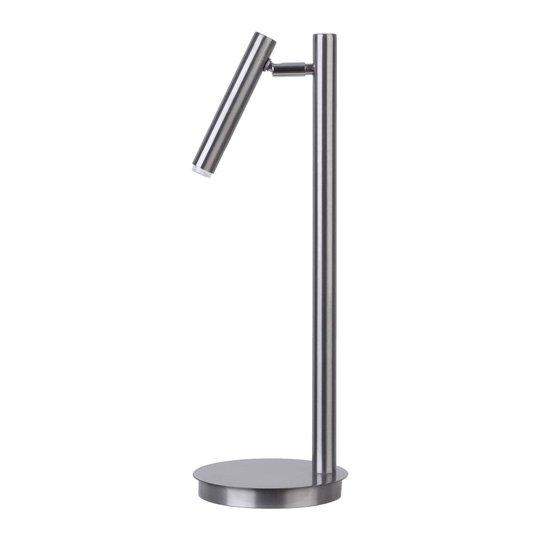Sopel bordlampe sølv