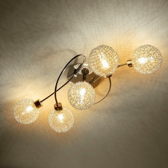 Leikkisä LED-kattovalaisin Ticino