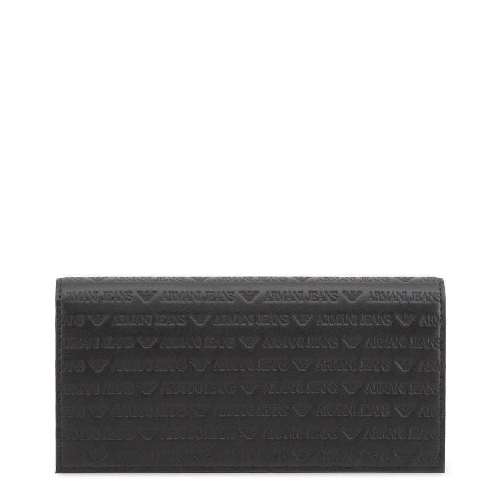 Armani Jeans Unisex Wallet Black 285859 - black NOSIZE