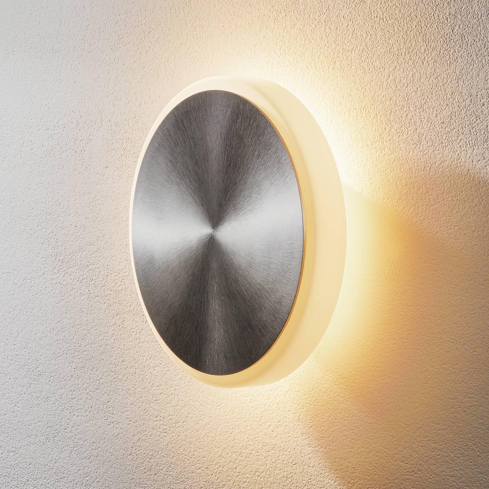 BANKAMP Button LED-seinävalaisin 33cm alumiini