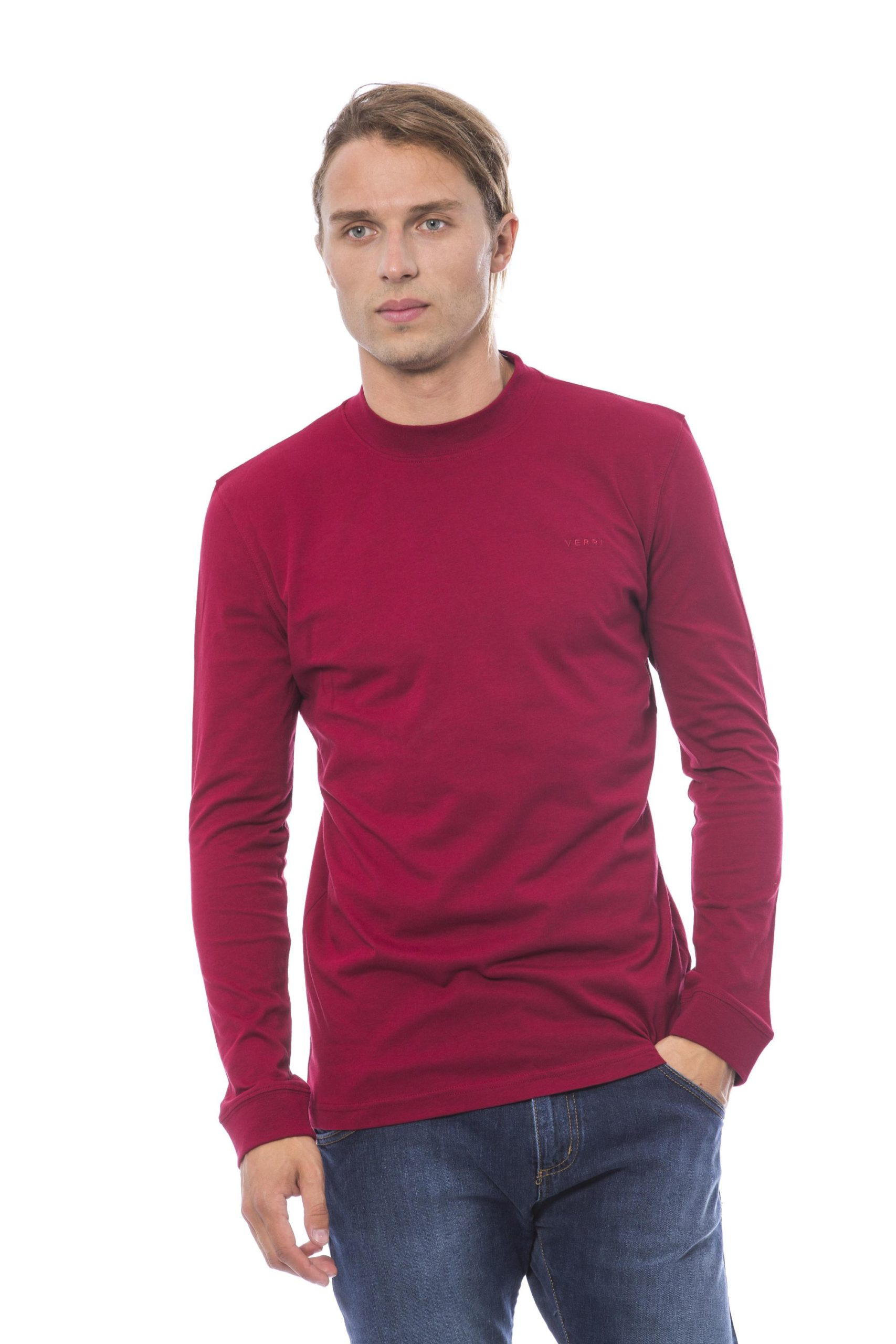 Verri Men's Vbordeaux Sweater Burgundy VE817411 - XL