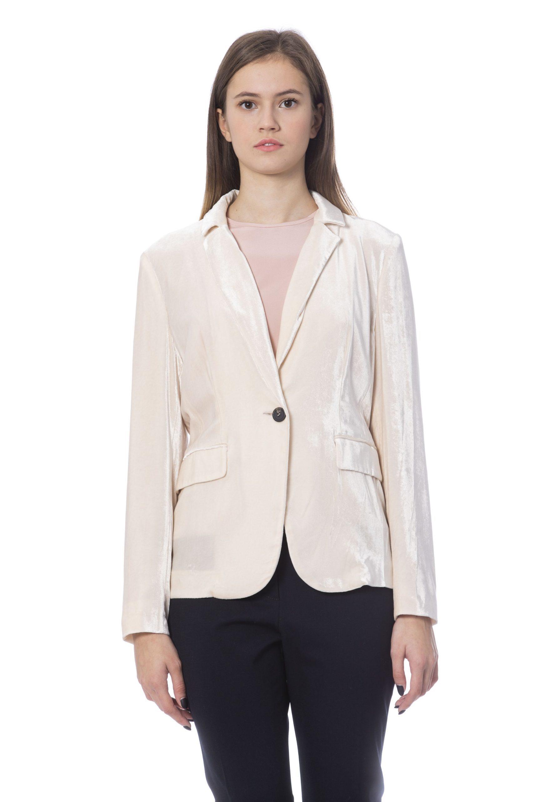 Peserico Women's Jacket Pink PE854188 - IT42 | S