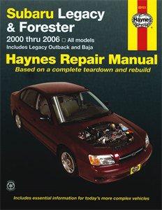 Haynes Reparationshandbok, Subaru Legacy & Forester, Universal