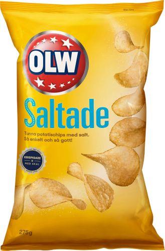 OLW Saltade Chips 275g