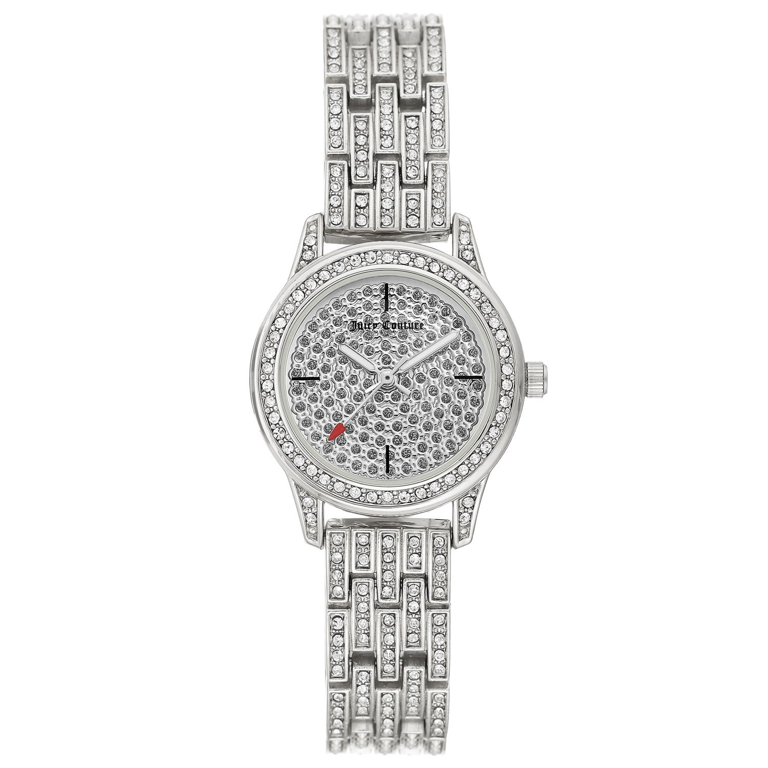 Juicy Couture Women's Watch Silver JC/1144PVSV