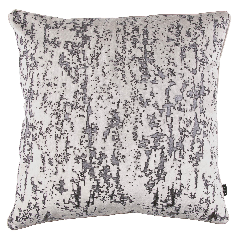 Zinc Romo I Grimaldi Cushion   Silver Grey 50x50cm