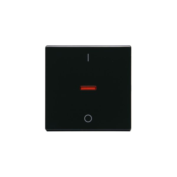 ABB 1788-81 Enkeltvippe 1-veis, rød linse, 1/0 Antrasitt