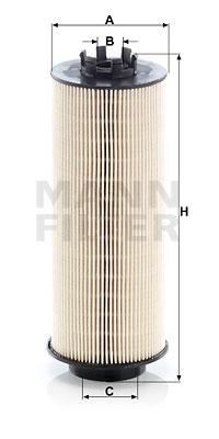 Polttoainesuodatin MANN-FILTER PU 966/1 x