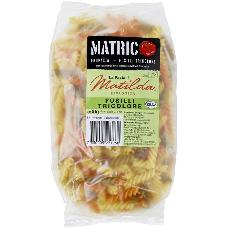"""Pasta """"Fusilli Tricolore"""" 500 g - 20% alennus"""