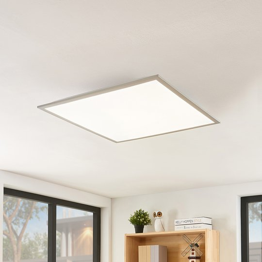 Lindby Stenley -LED-paneeli, CCT, 59 cmx59 cm