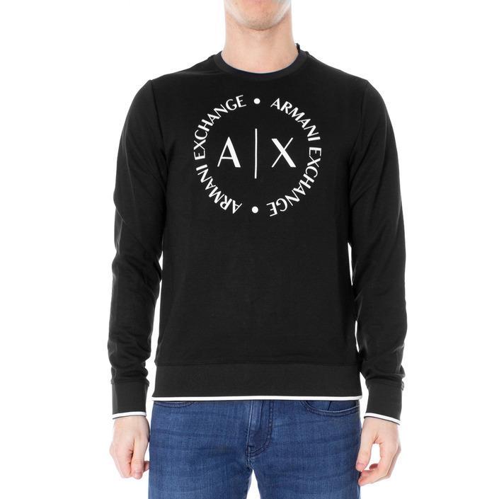 Armani Exchange Men's Sweatshirt Black 188945 - black XXL
