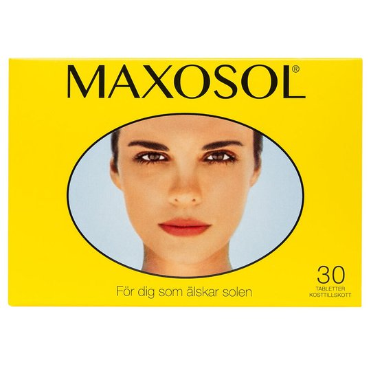Maxosol, Maxosol Lisäravinteet