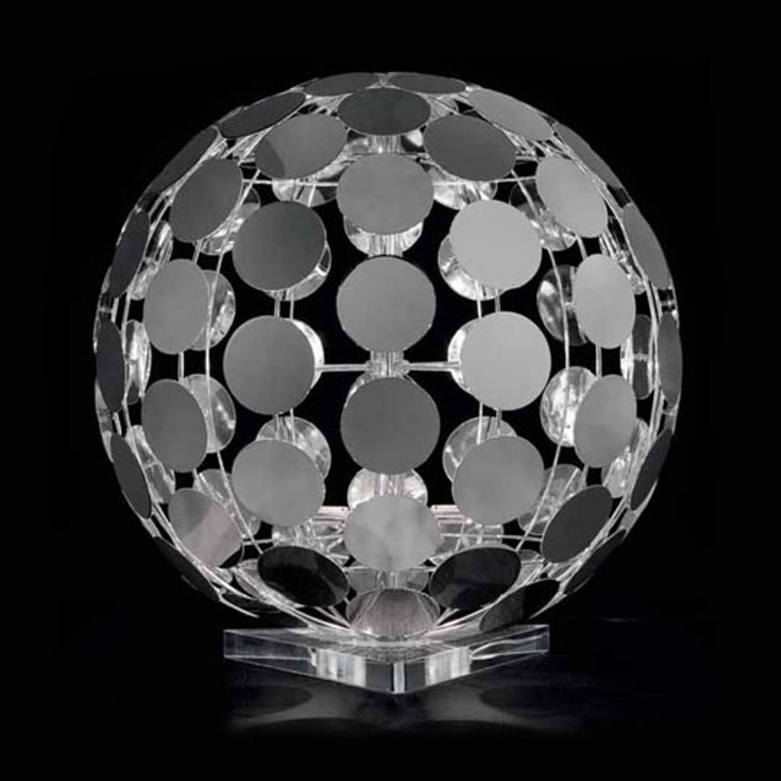 Sfera bordlampe med klar fot, 60 cm