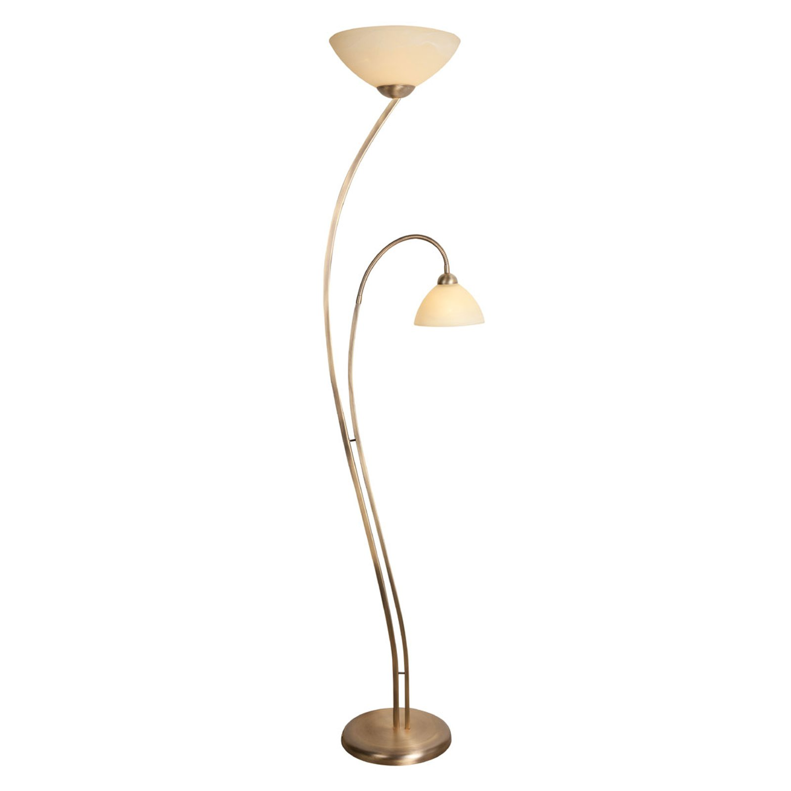 Capri gulvlampe med to lys
