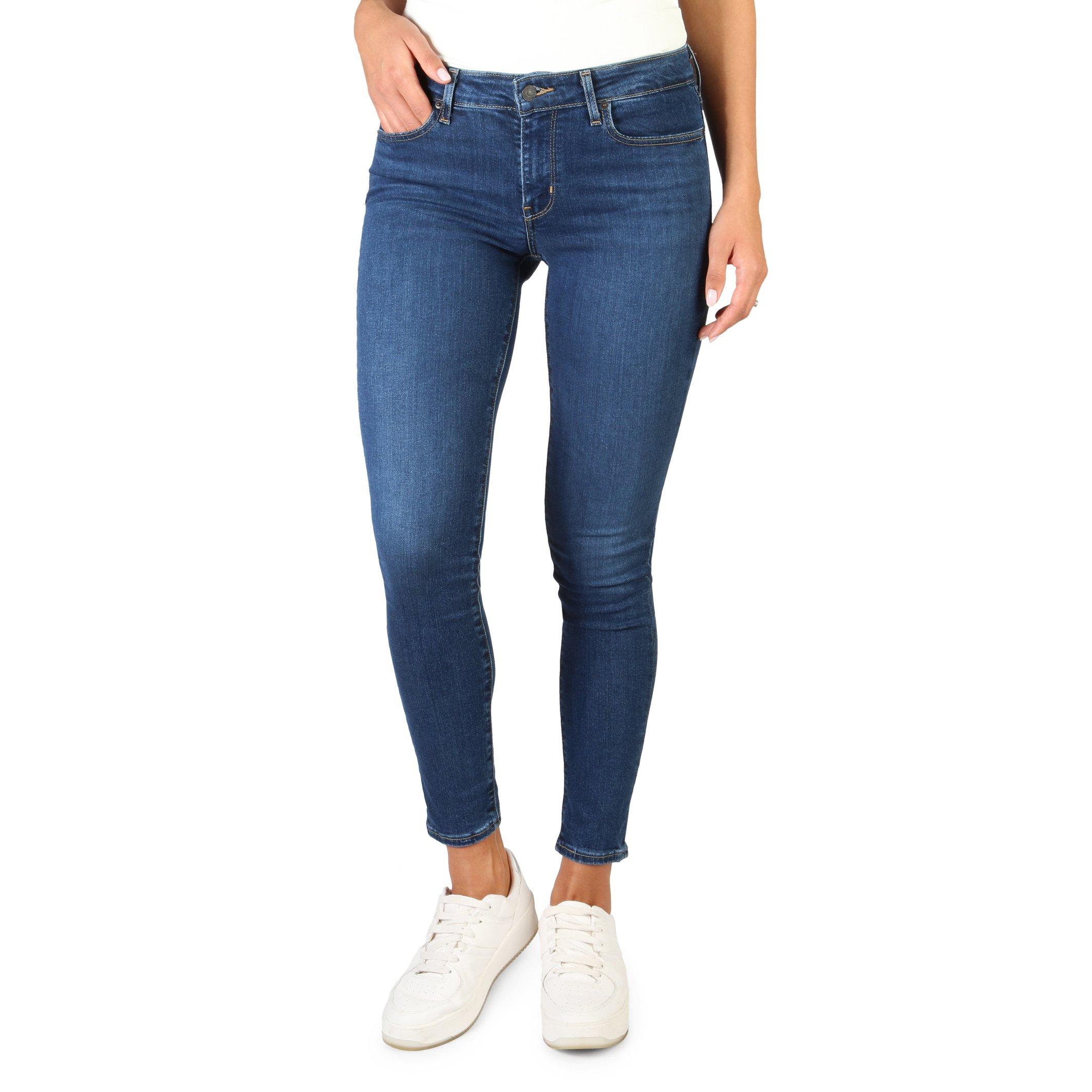 Levis Women's Jeans Blue 711-SKINNY - blue-2 26