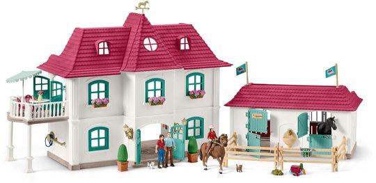 Schleich Hestegård Med Hus og Stall