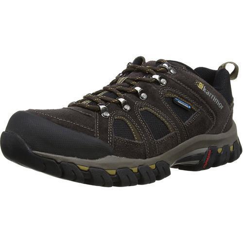 Karrimor Men's Weathertite Low Rise Waterproof Hiking Boot Various Colours Bodmin Low 4 - Dark Brown UK-7