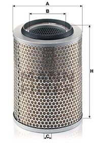 Ilmansuodatin, MERCEDES-BENZ T2/LN1 Skåp, T2/LN1 Tipp, 002 094 73 04, A 002 094 73 04
