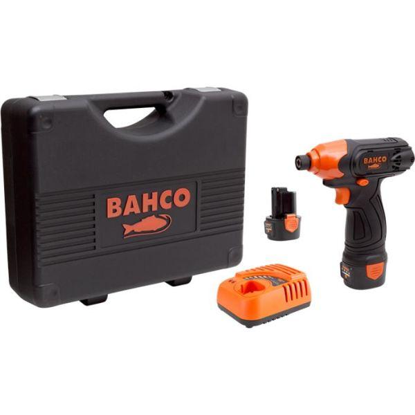 Bahco BCL31IS1K1 Slagskrutrekker med 2,0Ah-batterier og lader