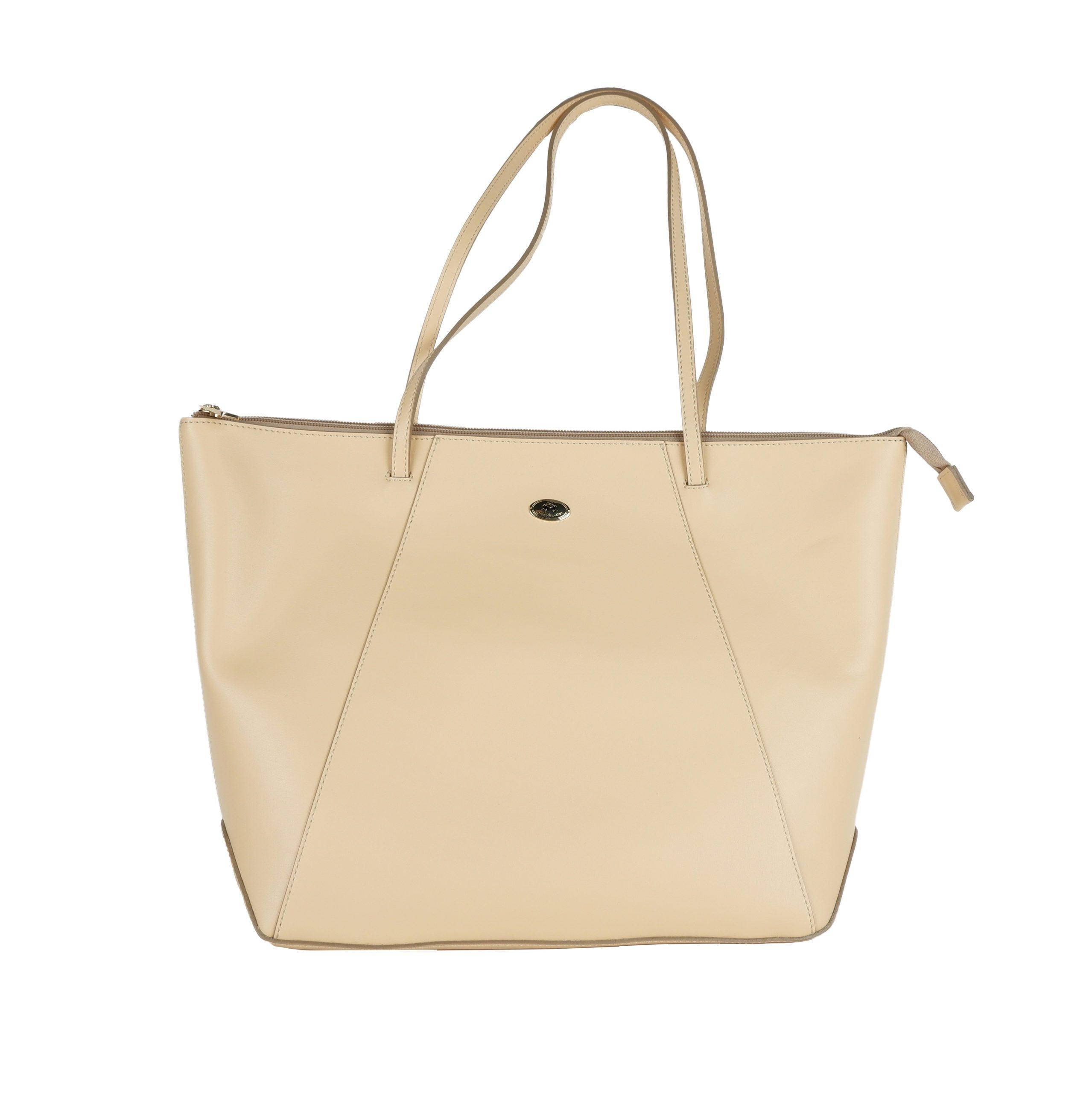 La Martina Women's Shoulder Bag Light Beige LA1421217
