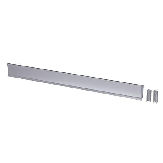 Leijma 8209 Suihkukynnys suora, hopeinen 110 cm