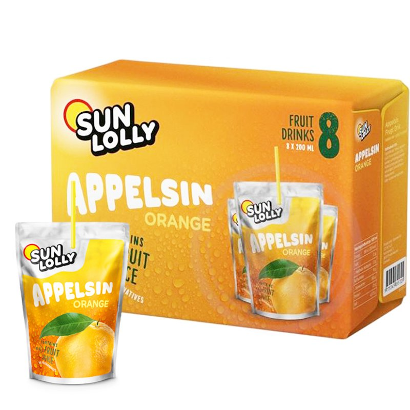 Fruktdryck Apelsin 8-pack - 33% rabatt