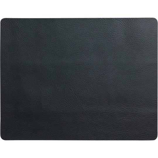 Aida Quadro bordsunderlägg svart 43x35 cm.