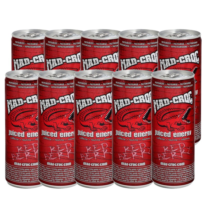 Energiamehujuomat Red Berries 10kpl - 31% alennus