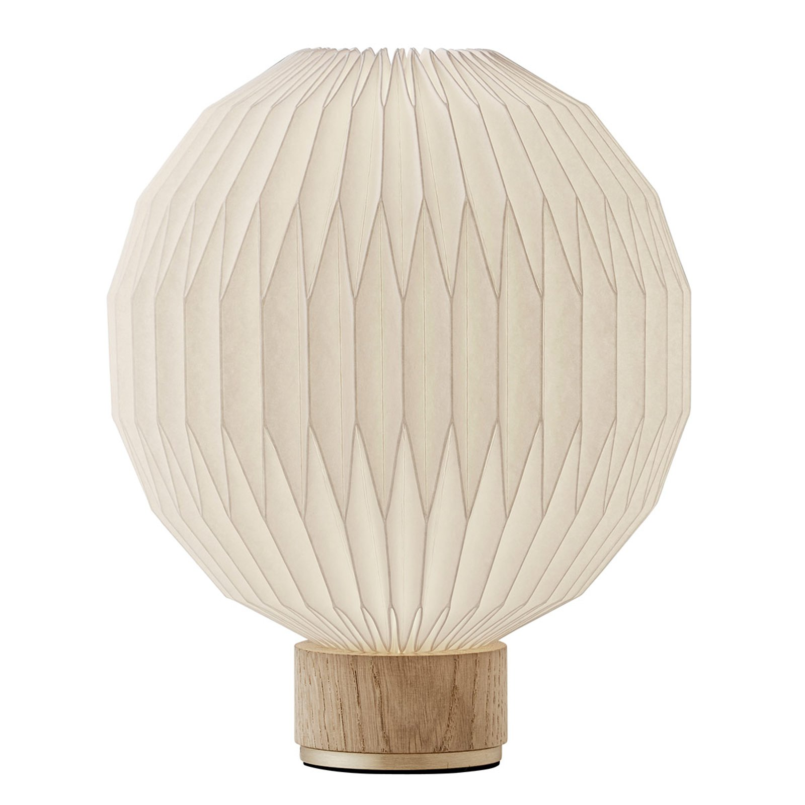 LE KLINT 375 bordlampe, papirskjerm 25 cm
