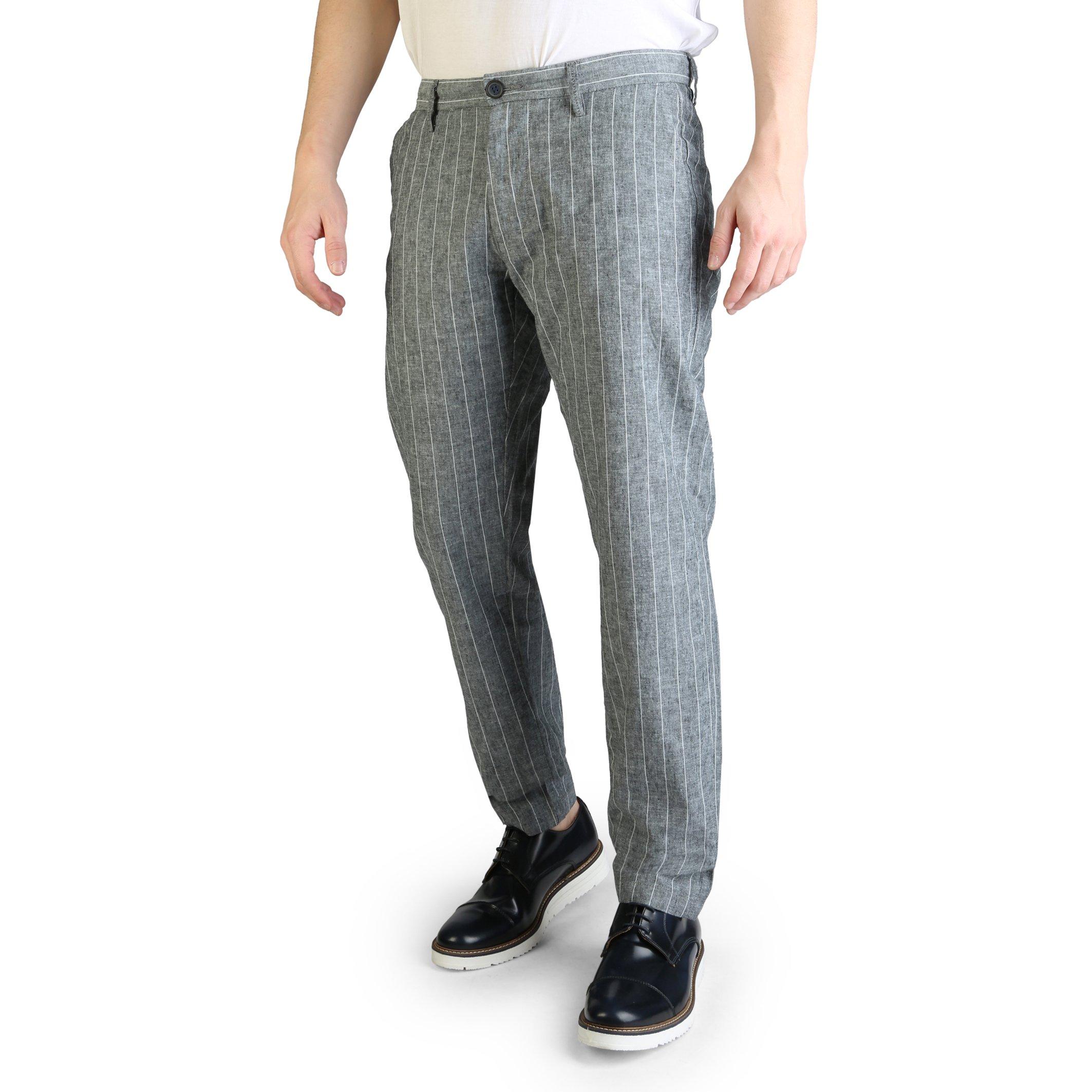 Yes Zee Men's Trouser Various Colours P682_UN00 - grey-1 S