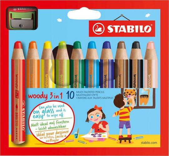 STABILO 3-i-1 Blyanter 10-pack