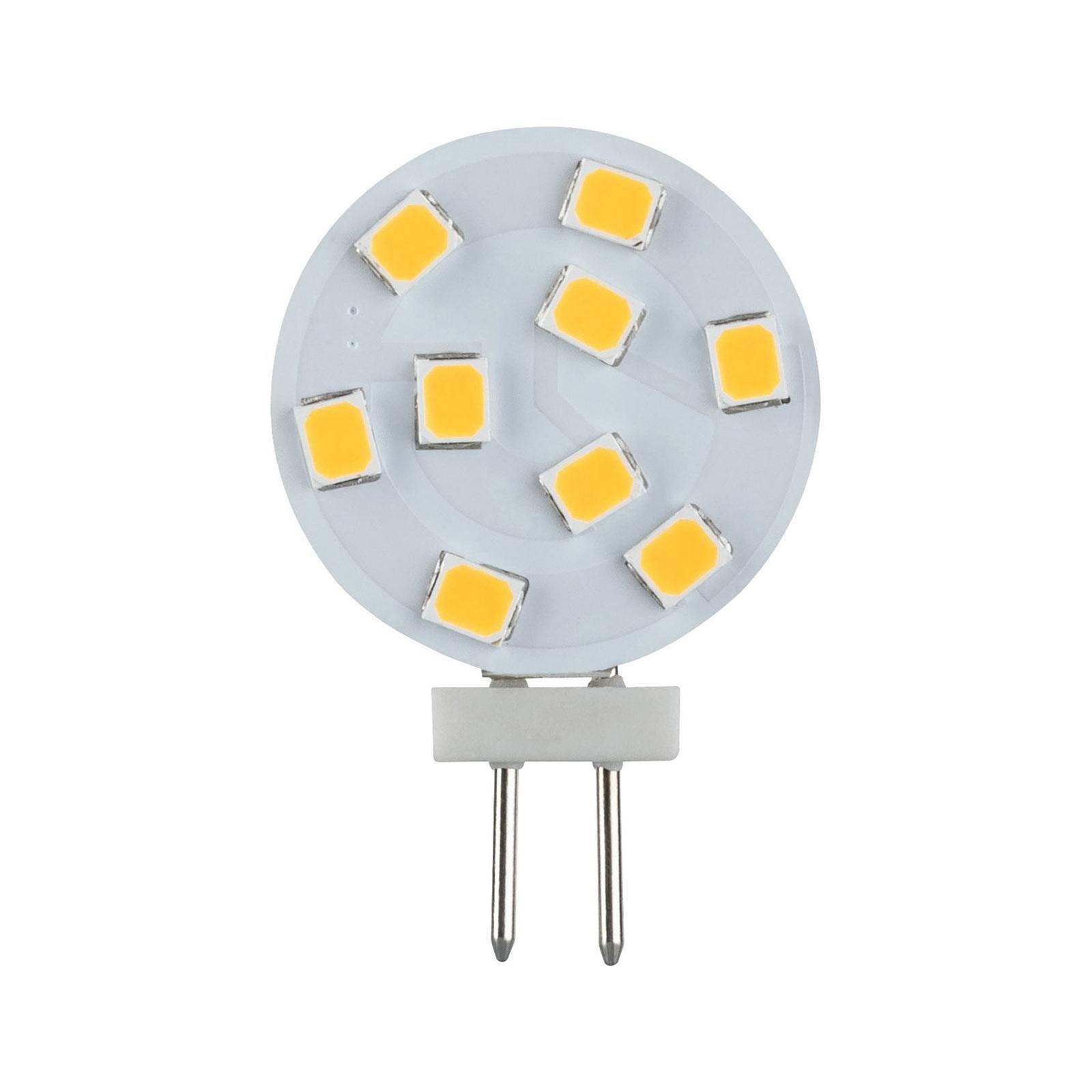 Paulmann kaksikantainen LED-lamppu G4 2,5W 2 700 K