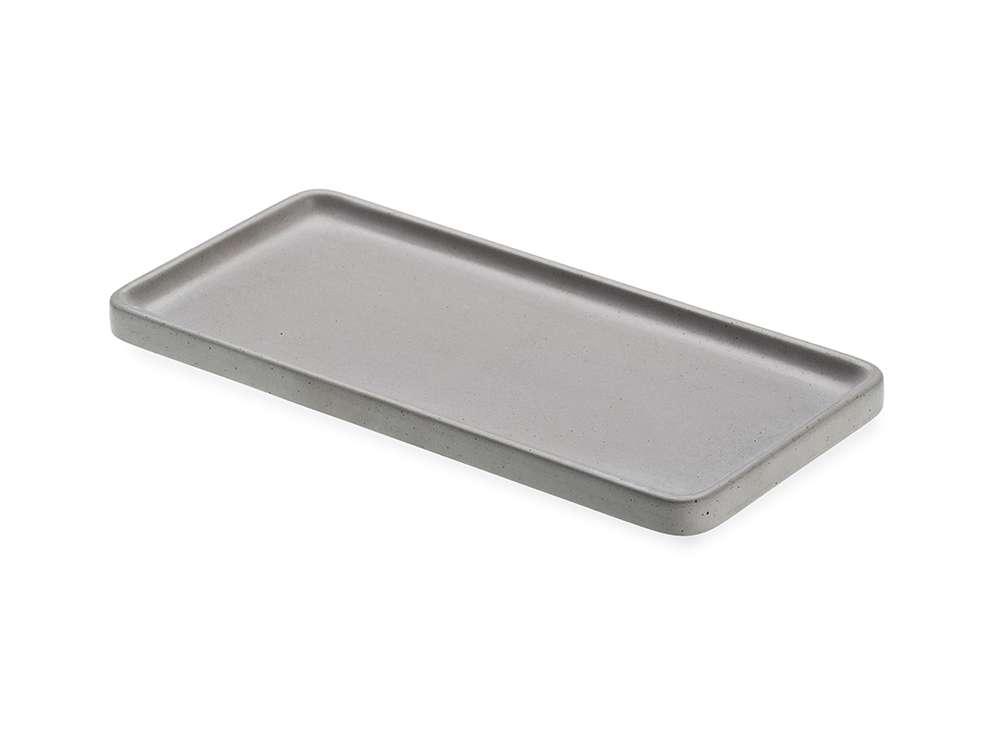 LIKEconcrete - Karin Tray Medium 40 x 20 x 2 cm - Grey (93768)