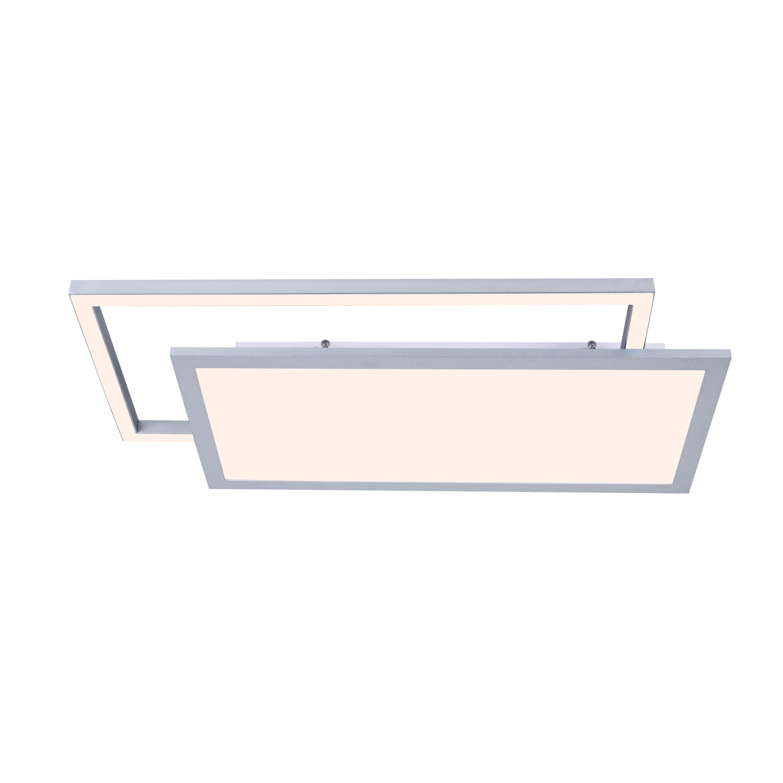 Lucande Senan LED-taklampe, rektangulær