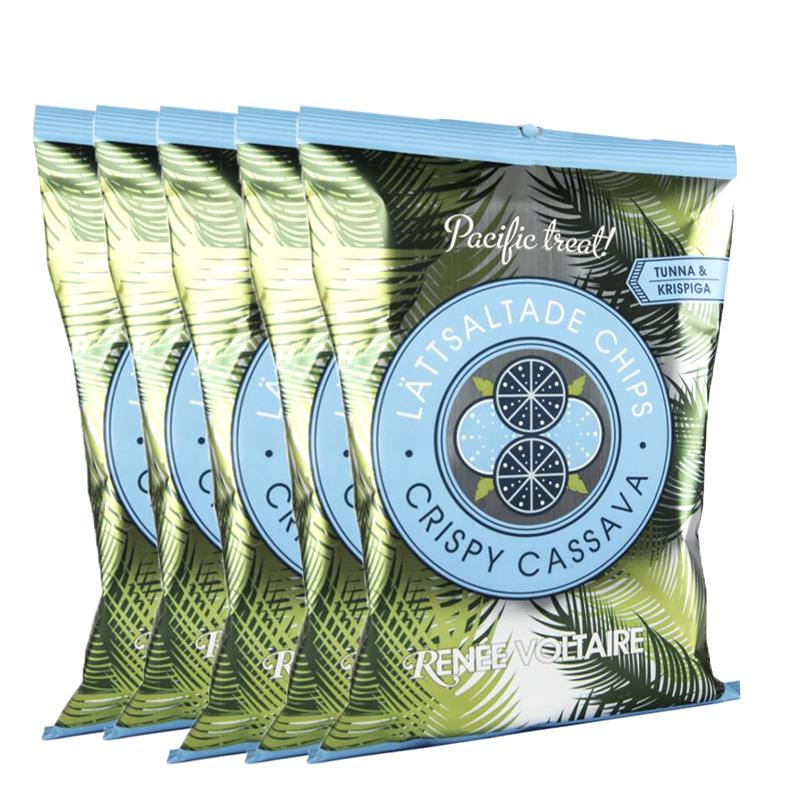 Chips Crispy Cassava 5-pack - 48% rabatt
