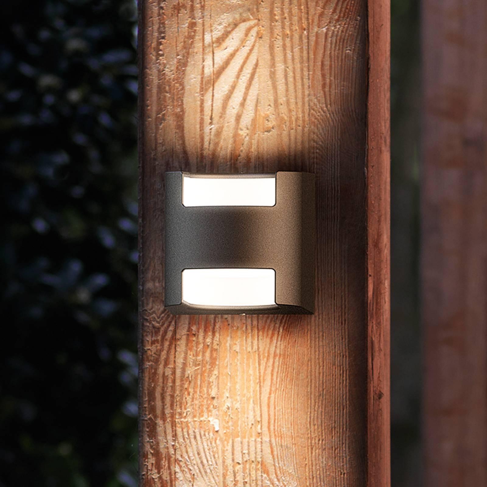 Kaunis LED-seinävalaisin Grass IP44