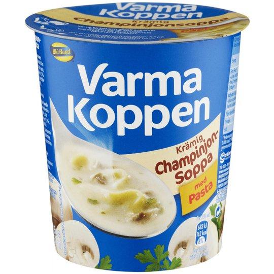 Champinjonsoppa Pasta - 44% rabatt