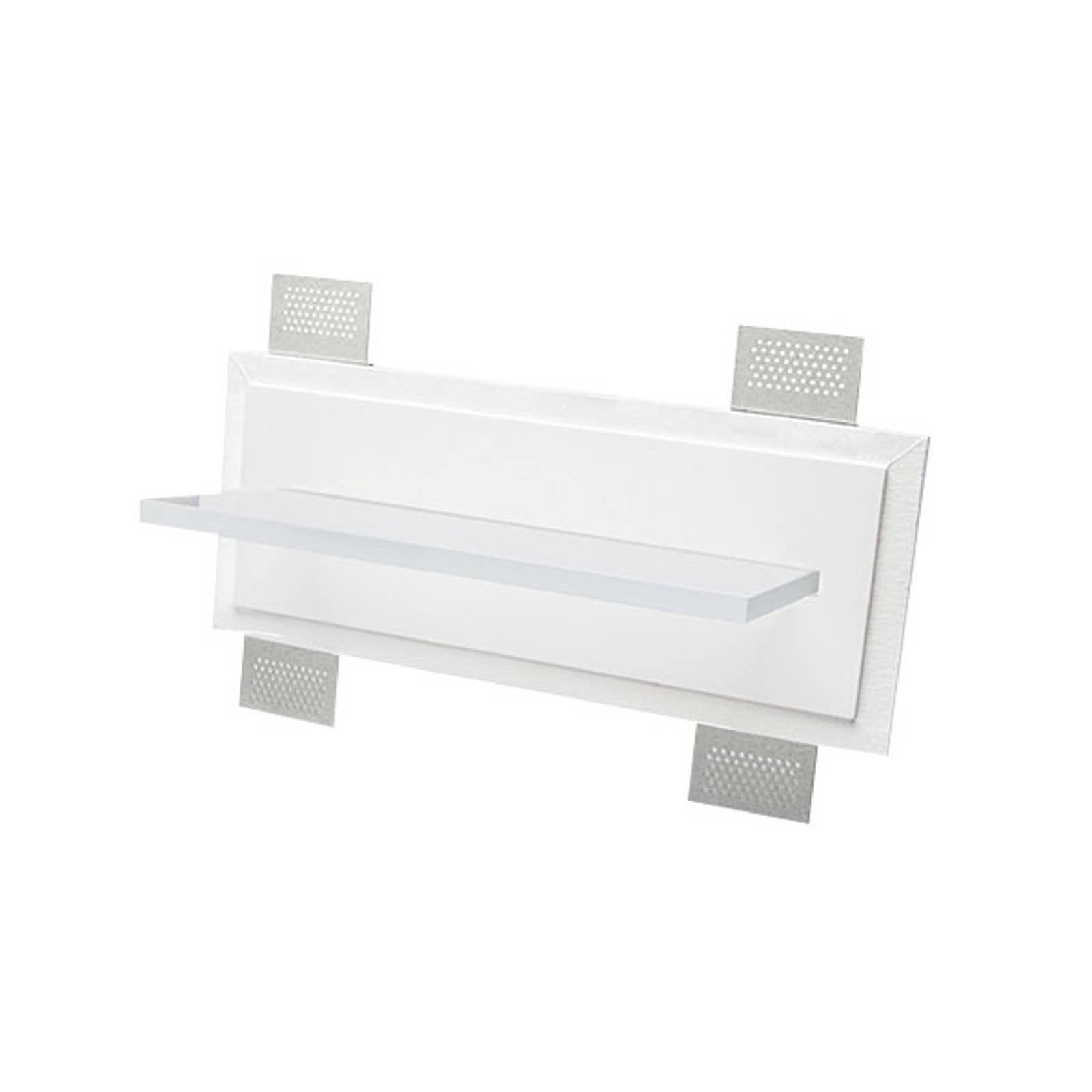 LED innfelt vegglampe 2484A, bredde 40 cm, 3 000 K